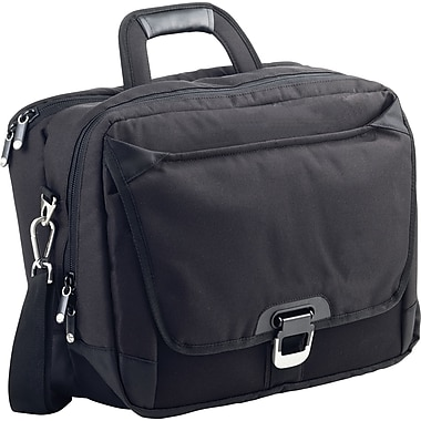 Ohmetric 3 in 1 Workstation Shoulder Case, Black, 15in.