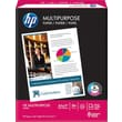 HP Multipurpose Paper, 8 1/2in. x 11in., 3-HOLE PUNCHED, Ream
