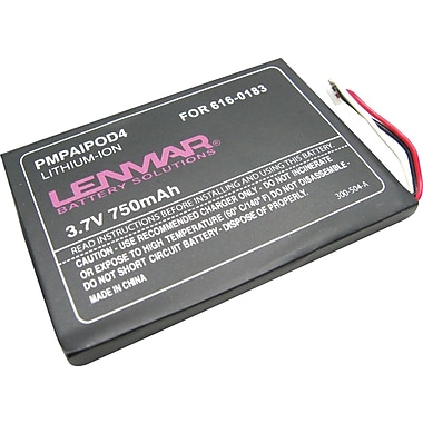Lenmar Replacement Battery for Apple iPod 4th Generation (PMPAIPOD4)