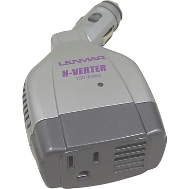Lenmar N-Verter 140-150 Watt DC to AC Power Inverter