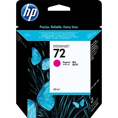 HP 72 Magenta Ink Cartridge (C9399A) 69ml
