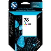 HP – Cartouche d'encre n° 78, tricolore (C6578DN)