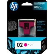HP – Cartouche d'encre magenta 02 (C8772WC)