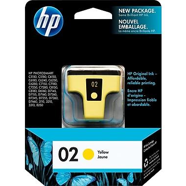 HP 02 Yellow Original Ink Cartridge (C8773WN)