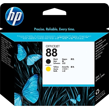 HP 88 Black/Yellow Printheads (C9381A)