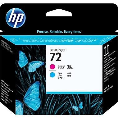 HP C9383A 72 Printhead, Magenta/Cyan