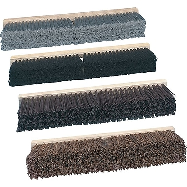 O'Dell&reg Stiff Polypropylene Floor Brush Head, 24in. Block