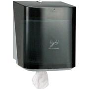 "Kimberly Clark® IN-SIGHT® Roll Control Center Pull Dispenser, Smoke, 12 1/2""H x 10""W x 10 13/20""D"