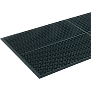 "Crown Safewalk-Light™ Anti-Fatigue Mat, 36""W x 60""L, Black"
