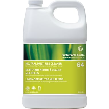 Sustainable Earth by Staples® Neutral Cleaner #64, 1 gal.