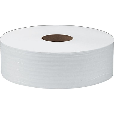 Scott® 100% Recycled JRT Jumbo Bath Tissue Rolls, 2-Ply, 6 Rolls/Case