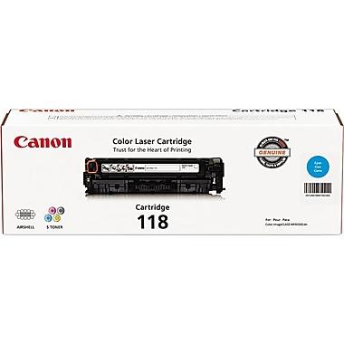 Canon® 118 Cyan Toner Cartridge (2661B001)