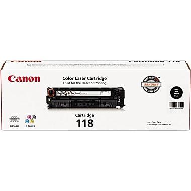 Canon® 118 Black Toner Cartridge (2662B001)