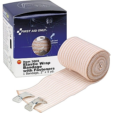 First Aid Only™ Elastic Bandage Wrap, Latex-Free, SmartCompliance™ Refill, 2in. x 5 Yards