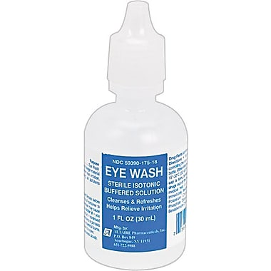 First Aid Only Eye Wash, SmartCompliance™ Refill, 1 oz. Bottle