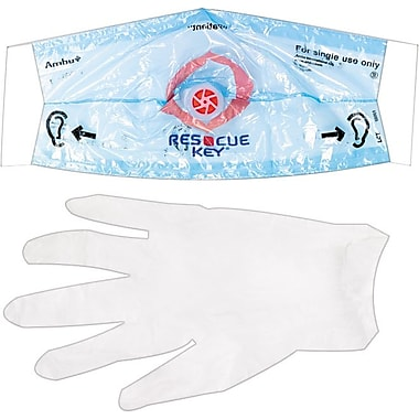 First Aid Only Rescue Breather Face Shield, SmartCompliance™ Refill