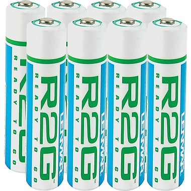 Ready-2-Go 850mAh AAA Rechargeable Batteries (R2GAAA8), 8/Pack