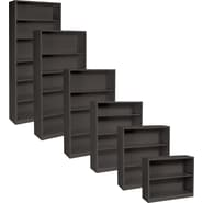 HON® Brigade, Metal Bookcases, Charcoal