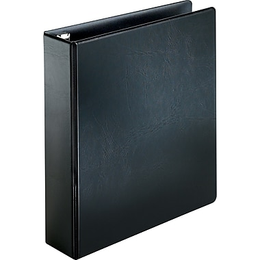 Cardinal Easy Open 2-Inch D 3-Ring Binder, Black (18732)