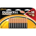 Duracell Coppertop AAA Alkaline Batteries, 20/Pack
