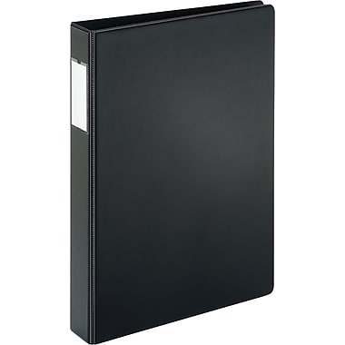 1in. Cardinal® 8-1/2in. x 14in. Legal Slant D-Ring Binder, Black