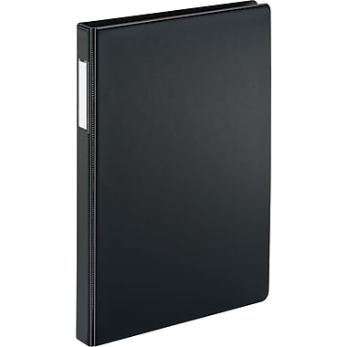 2in. Cardinal® 8-1/2in. x 14in. Legal Slant D-Ring Binder, Black
