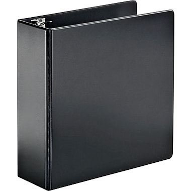 4in. Cardinal® SuperStrength™ Binder with Locking Slant-D® Rings, Black