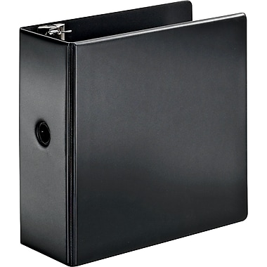 Cardinal SuperStrength 5-Inch Slant D-Ring Binder, Black (11932CB)
