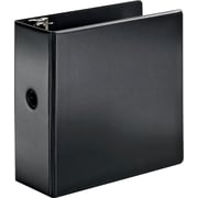 Cardinal SuperStrength 5-Inch Slant D 3-Ring Binder, Black (11932CB)