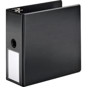 "Cardinal 5"" SuperStrength Binder with Label Holder and Locking Slant-D Rings, Black"