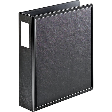 Cardinal SuperLife EasyOpen 2-Inch Slant D 3-Ring Binder, Black (14022)