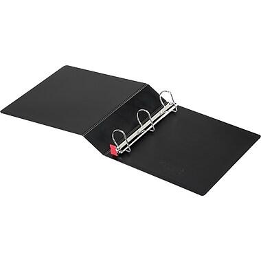 Cardinal SuperLife EasyOpen 2-Inch Slant D 3-Ring Binder, Black (14022)