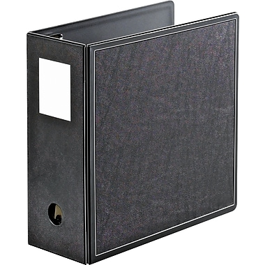 5in. Cardinal® SuperLife™ Easy Open® Locking Slant-D® Ring Binder, Black