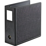 Cardinal SuperLife EasyOpen 5-Inch Slant D 3-Ring Binder, Black (14052CB)