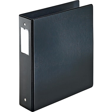 2in. Cardinal® EasyOpen® Binder with Locking Round Rings, Black