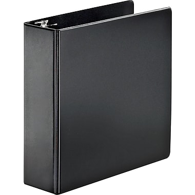 3in. Cardinal® SuperStrength™ Binder with Locking Slant-D® Rings, Black