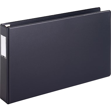 Cardinal Easy Open 2-Inch Slant D 3-Ring Binder, Black (12132)