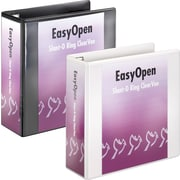 "4"" Cardinal® EasyOpen® ClearVue™ Binders with Locking D-Rings"