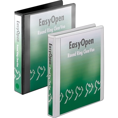 1-1/2in. Cardinal® EasyOpen® ClearVue™ Binders with Round Rings