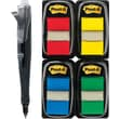 Post-it® Assorted Flag Bonus Packs with Pop-Up Dispenser