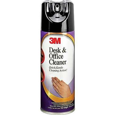 3M Desk & Office Cleaner, 15 oz