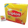 Lipton® Single Serve Tea Bags, Regular, 100 Tea Bag/Box