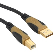Staples 11' Gold Series USB A/B Cable (18803)