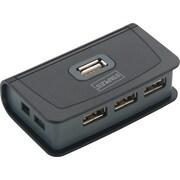 Staples 4-Port USB 2.0 Hub, Black (19036)