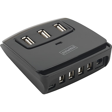 Staples 7-Port Square USB 2.0 Hub