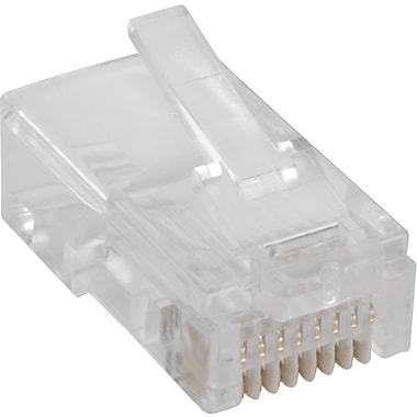 Staples RJ45 Connectors, 25/Pack