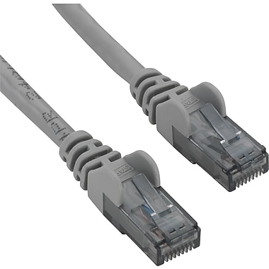 Staples 25' CAT6 Patch Cable - Gray