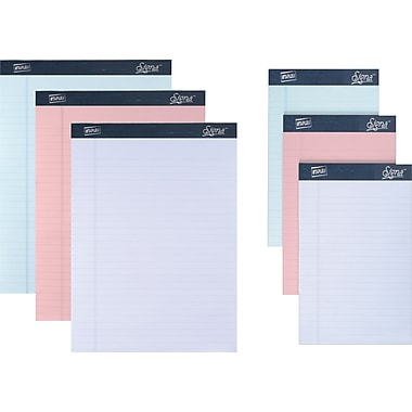Signa® Pastel Perforated Writing Pads