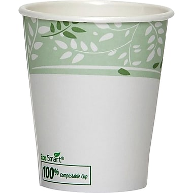 Dixie® EcoSmart® Compostable Hot Cups, 10 oz., 50/Pack