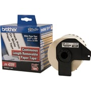 Brother White Removable Wide Tape